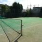 敷地内テニスコート
