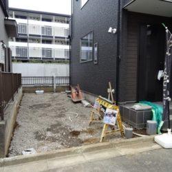 駐車スペース(1月28日撮影時点)