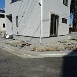 駐車スペース(2月4日撮影時点)
