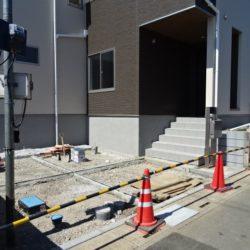 駐車スペース(4/22撮影時点)