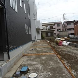 駐車スペース(5月31日撮影時点)