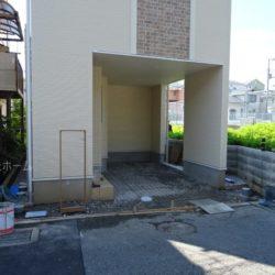 駐車スペース(7月2日撮影時点)
